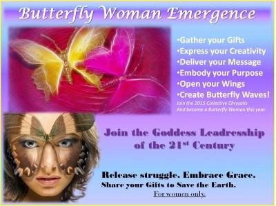 Butterfly Woman Emergence Program